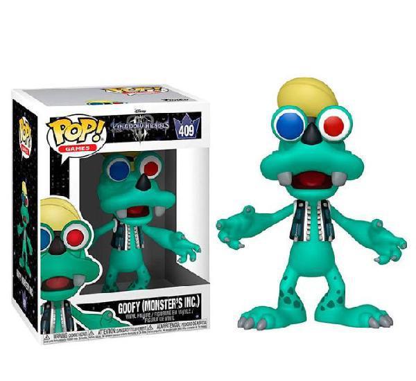 Funko pop! disney kingdom hearts 3 goofy monsters inc funko
