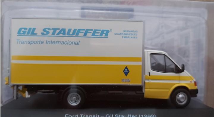 Ford transit gil stauffer 1998 - ixo salvat furgoneta