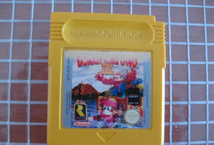 Gb donkey kong land 3 pal europa solo cartucho game boy