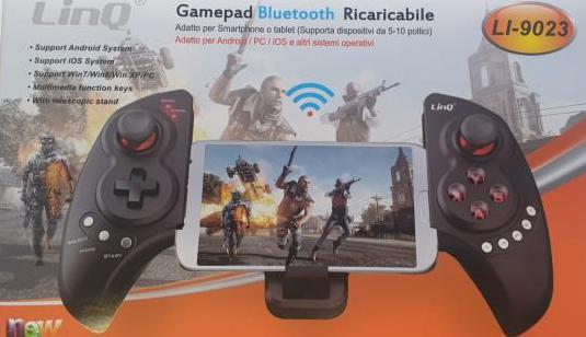 Gamepad bluetooth móvil