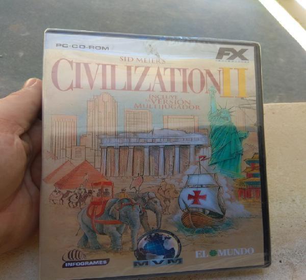 Juego de pc civilization ii - el mundo - nuevo precintado -