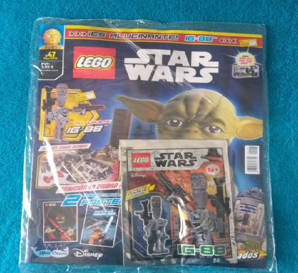 Lego star wars revista con mini figura n° 44