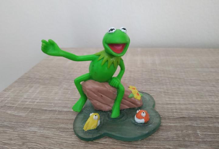 Muñeco - figura rana gustavo applause henson