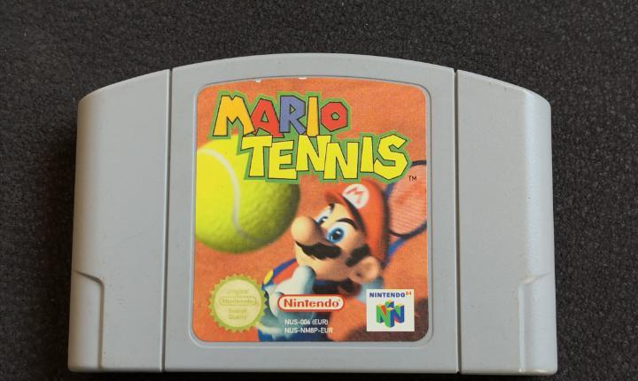 Mario tennis de nintendo 64