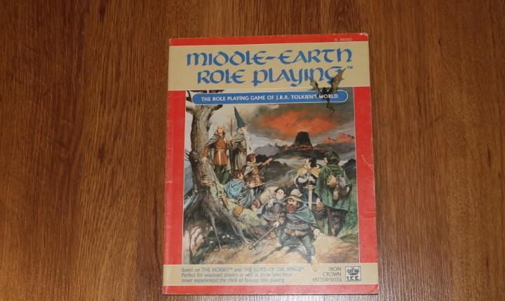 Middle-earth role playing ice merp lord rings joc