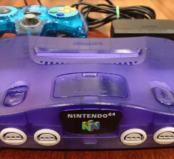 Nintendo 64 purple grape morada