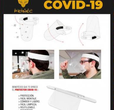 Protector facil covid-19