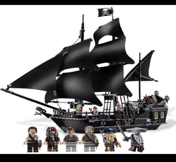 Piratas del caribe, barco la perla negra
