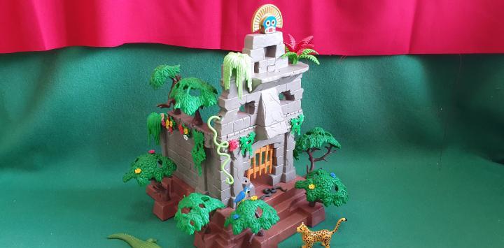 Playmobil ruinas selva indigenas caza africa indios lote 1