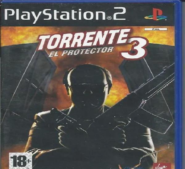 Sony playstation 2 juego torrente 3 el protector nuevo