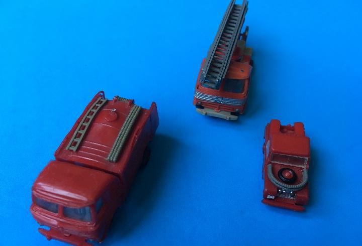 Selección mini-cars nº 1(bomberos)