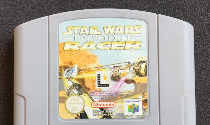 Star wars racer de nintendo 64