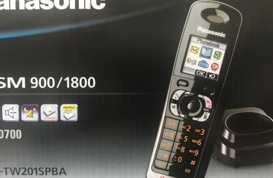 Teléfono inalámbrico panasonic tw201