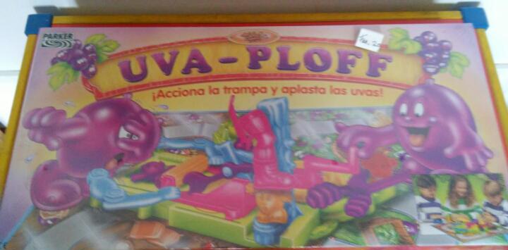 Uva-ploff juego de plastilina con tablero.tonka-mb-parker