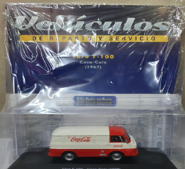 Vehiculos de reparto y servicios. ebro f-100. coca cola