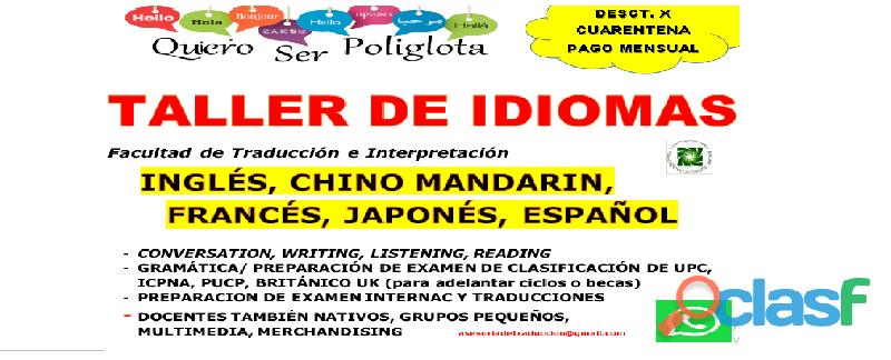Idiomas  taller de idiomas