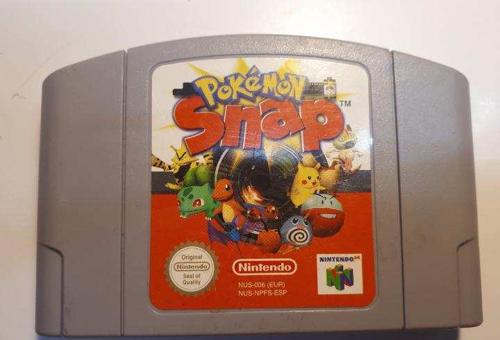 Juego original de nintendo 64 pokemon snap