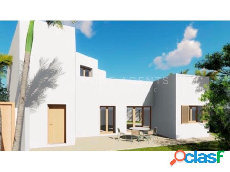 Terreno con licencia para un chalet espectacular de nueva construcción de alta calidad con diseño moderno en Son Ferrer. 2