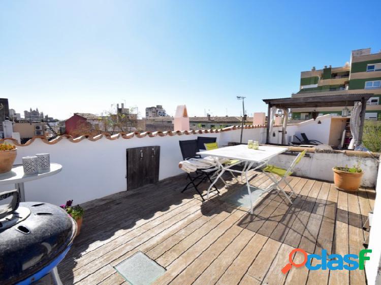 Coqueto ático 2 habitaciones st catalina terraza privada