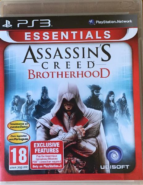 Assasins creed brotherhood ps3 completo