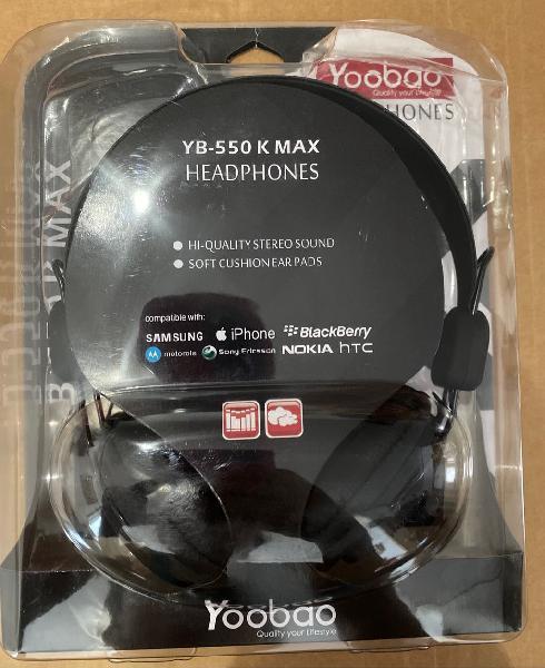 Auriculares con micrófono sonido envolvente