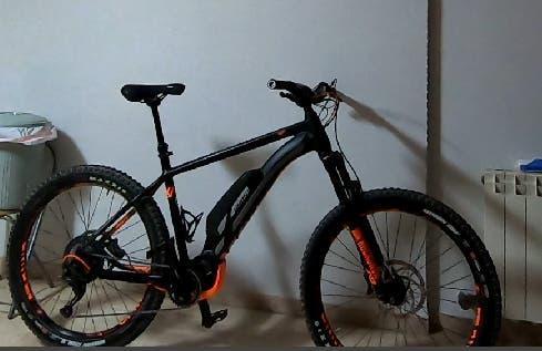 Bicicleta eléctrica ghost shimano
