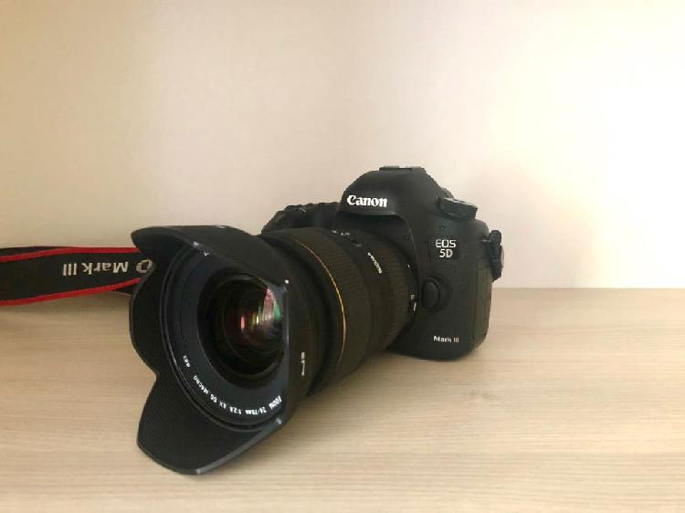 Canon 5d mark iii + 24-70 f2,8