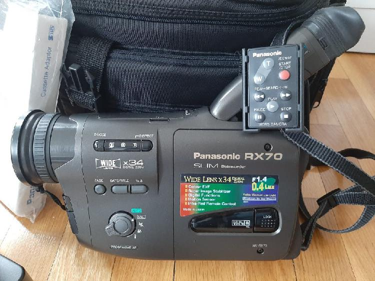 Cámara de vídeo panasonic rx70