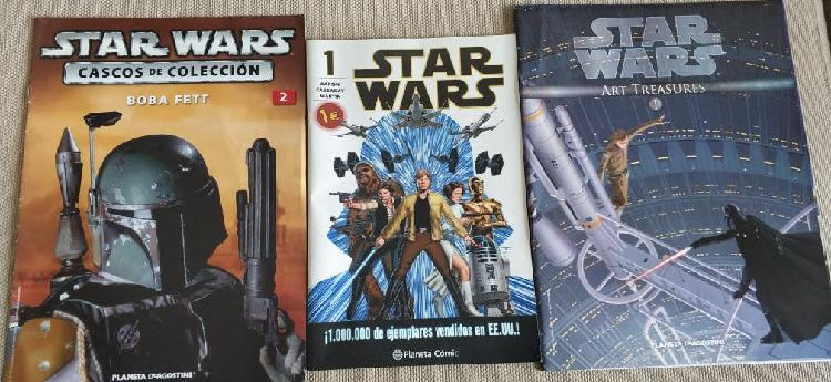 Cómic y fascículos colecciones star wars