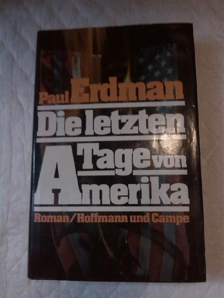 Die letzten. tage von amerika . libros en alemán.