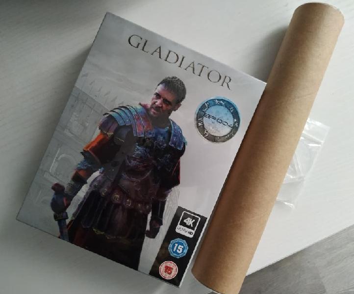 Gladiator everythingblu 4k edición coleccionista