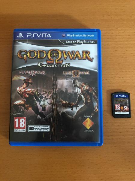 God of war collection psvita