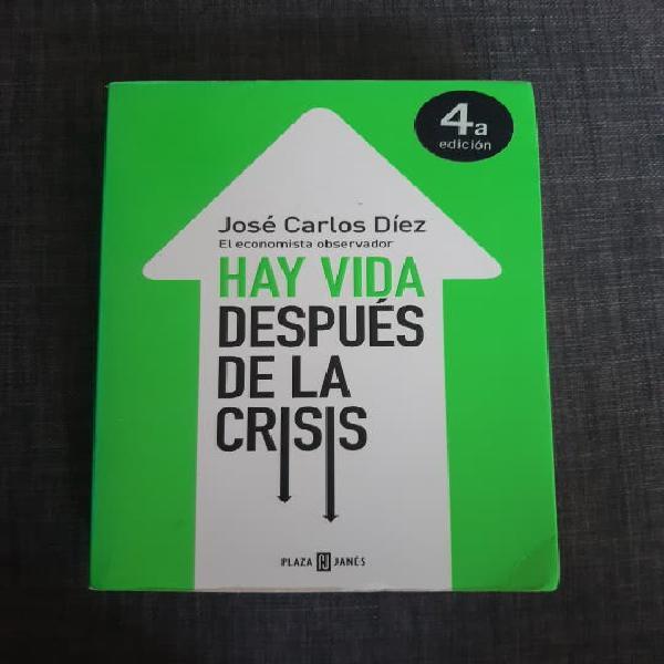 Libro hay vida después de la crisis
