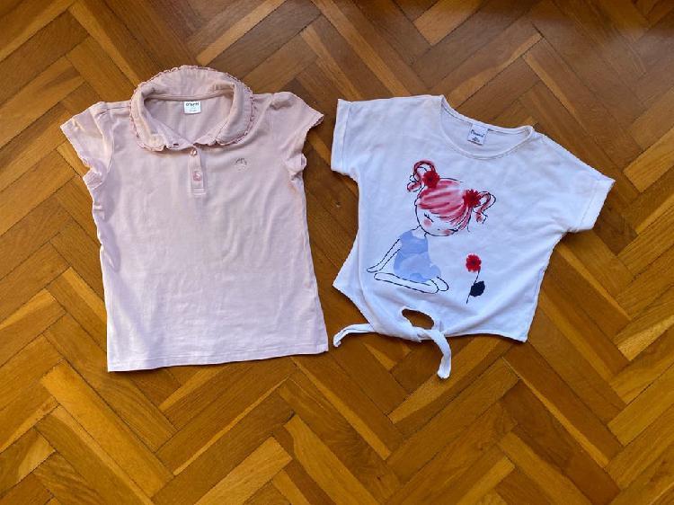 Lote camisetas niña 6-7 años