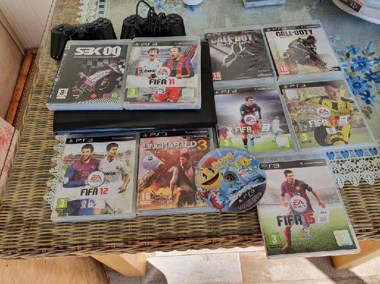 Mega pack ps3 500 gb con tiendas