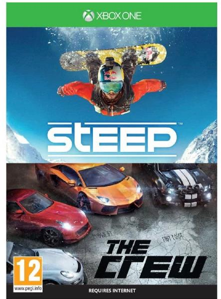 Pack 2 juegos xbox one steep&the crew