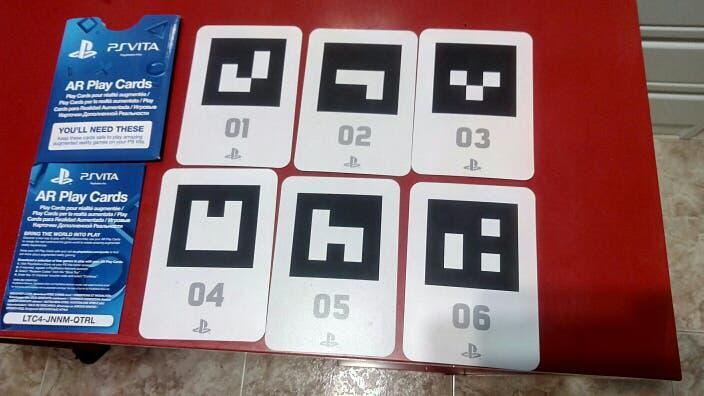 Ps vita ar play cards