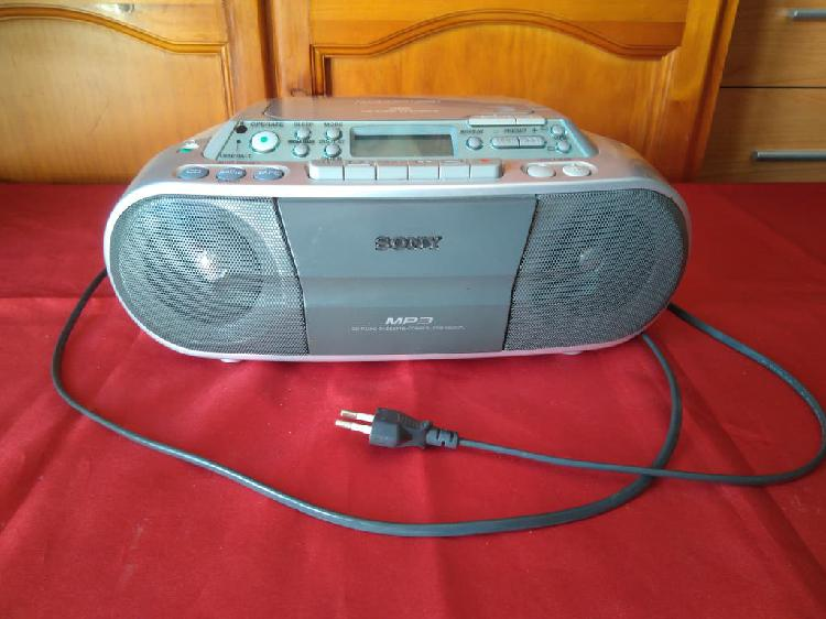 Radio cassette, cd y mp3 sony cfd-s03cpl