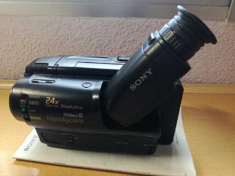 Video camara sony habdycam video 8 ccd - tr550e