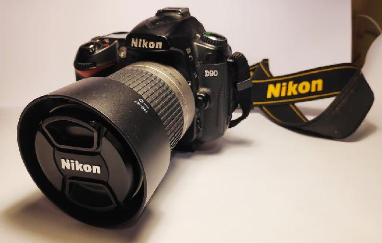 Camara fotos nikon d90 + objetivo nikkor 28-100