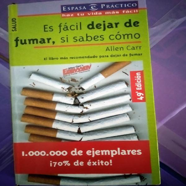 Dejar de fumar es fácil si sabes como