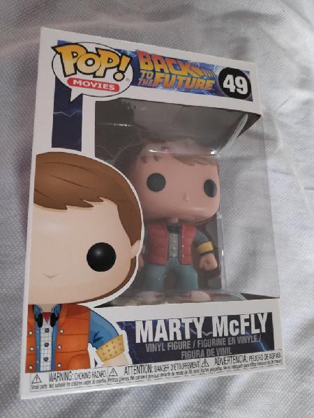 Figura funko pop marty mcfly regreso al futuro