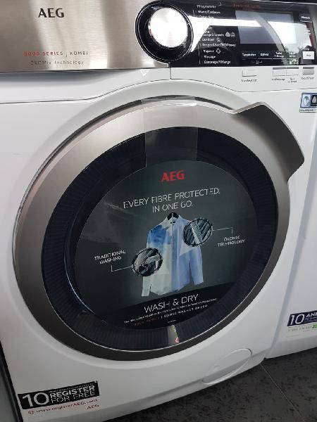 Lavadora secadora aeg 7000 serie