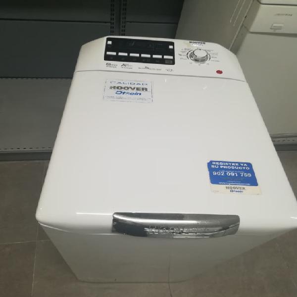 Lavadora carga superior hoover 8 kilos