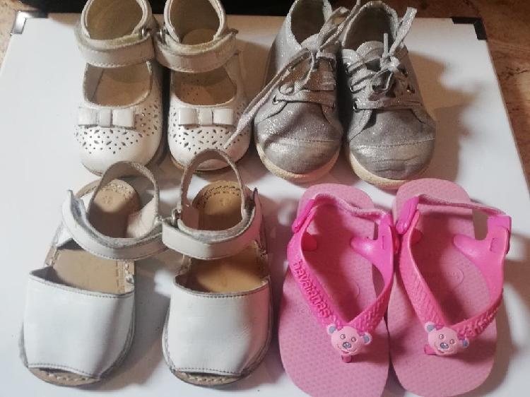 Lote zapatos niña n 19