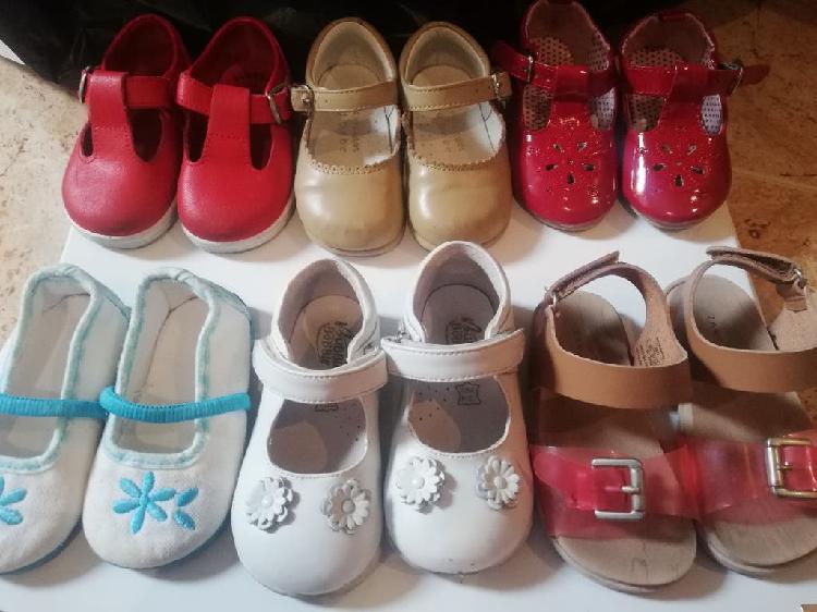 Lote zapatos niña n 21