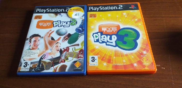 Pack juegos play 2 eye toy play 2 y 3
