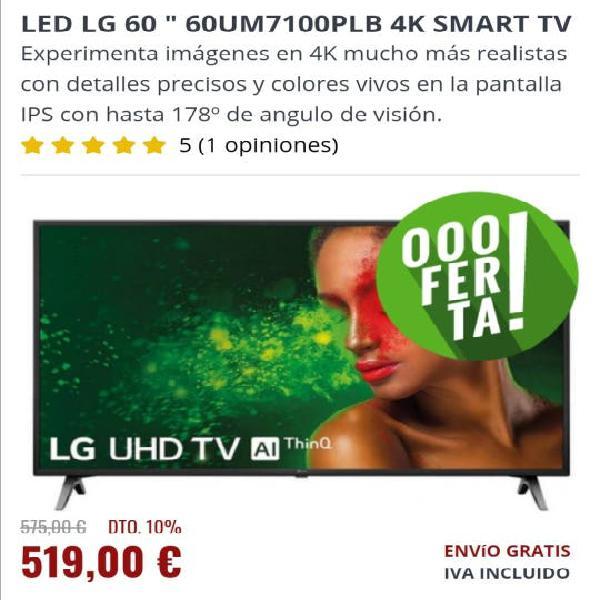Televisión lg 60, nueva