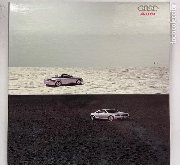 2001 catálogo audi tt coupé y tt roadster 2 en 1