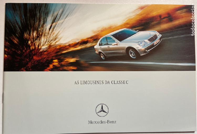 2001 catálogo mercedes-benz clase c